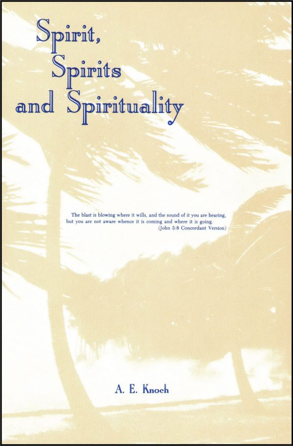 Spirit, Spirits, and Spirituality