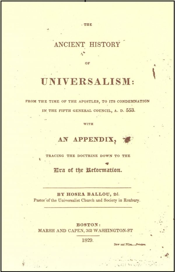 The Ancient History of Universalism