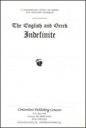 The English and Greek Indefinite