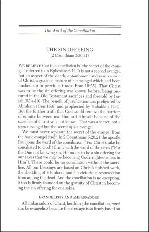 The Sin Offering